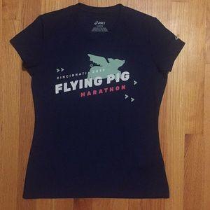 Women's Flying Pig Marathon Cincinnati Race Tee